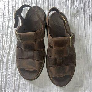 Dr. Martens Vintage Brown Flash Fisherman's Sandal